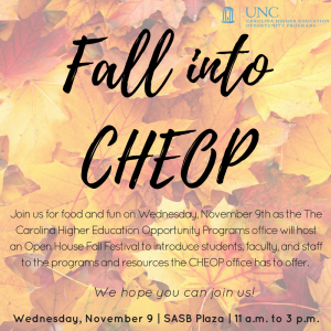 Fall into CHEOP